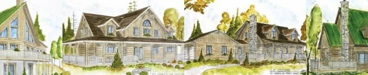 Bondu Log Model Homes