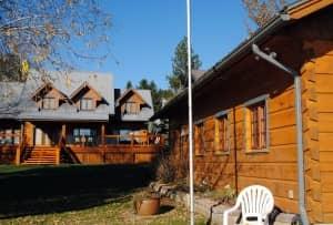 custom Bondu log house