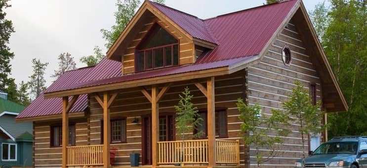 Trappeur Homes High Efficient Prefabricated Dovetail Log
