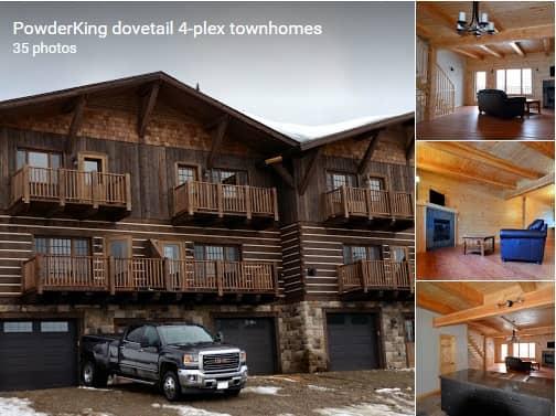 Dovetail 4 plex town home high efficient prefabricated for Prefab 4 plex