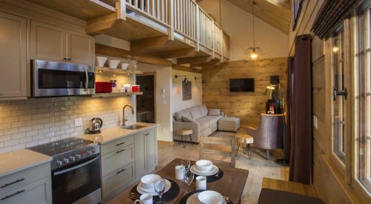The Bonhomme Cabin - Kitchen