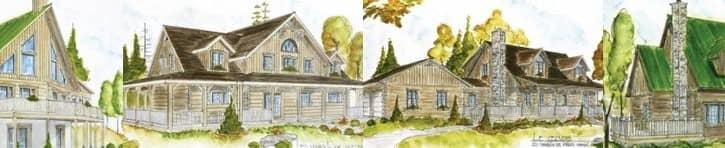 Bondu Log Model Homes