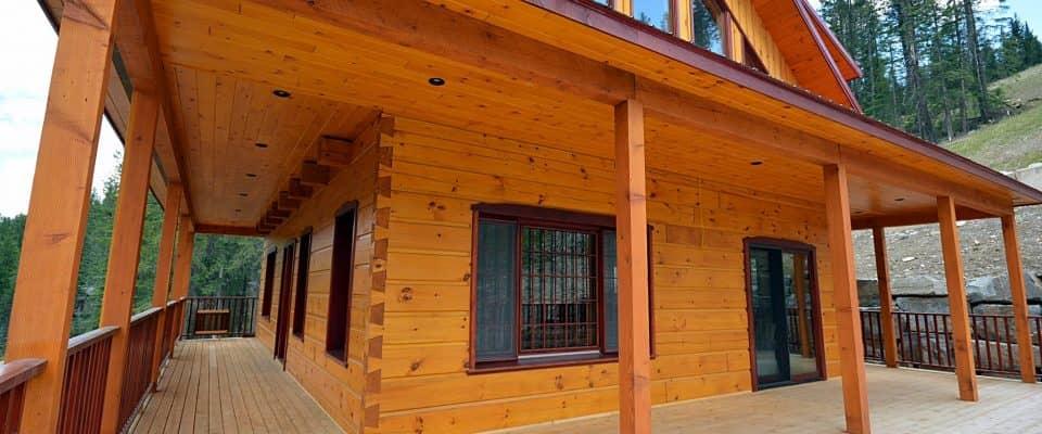 Bondu Log Home Panorama Mountain Resort